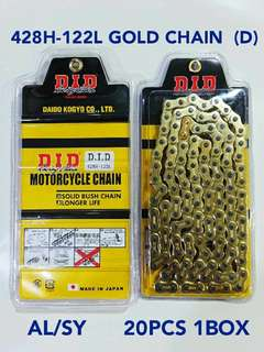 DID HEAVY DUTY CHAIN 428 & 415