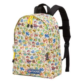 [PO] POKEMON PRINTS OUTDOOR BACKPACK [SUMMER LIFE] - POKEMON CENTER EXCLUSIVE