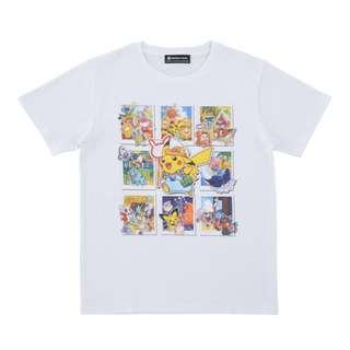 [PO] T-SHIRT (KIDS) [SUMMER LIFE] - POKEMON CENTER EXCLUSIVE