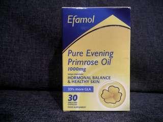 Efamol 1000mg Pure Evening Primrose Oil & Vitamin E - 30 One-A-Day Capsules
