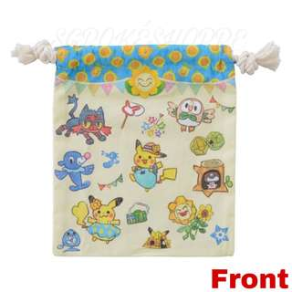 [PO] DRAWSTRING POUCH [SUMMER LIFE] - POKEMON CENTER EXCLUSIVE