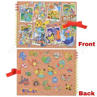 [PO] SKETCHBOOK [SUMMER LIFE] - POKEMON CENTER EXCLUSIVE