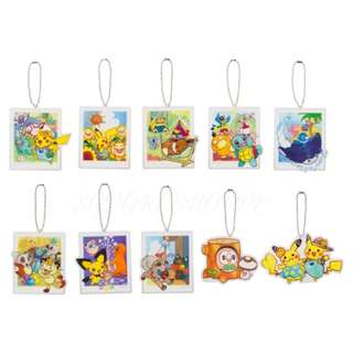 [PO] ACRYLIC CHARMS COLLECTION **RANDOM** [SUMMER LIFE] - POKEMON CENTER EXCLUSIVE
