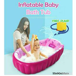 Baby bathtub FREE Pump