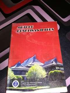Buku Metode ILTEKS ITB #maudecay