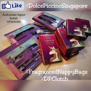 🚚 Dolce Piccino Nappy Bag Clutch