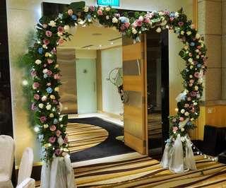 Wedding / Bridal Fresh Flower Arch