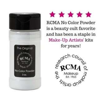💄 RCMA No Colour Setting Powder