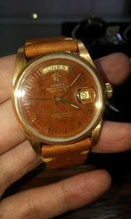 Rolex 18078 木紋面