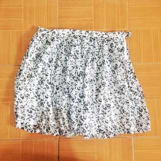 Korean FloralFashion Skirt