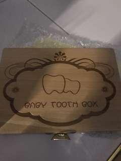 小朋友乳齒收藏盒