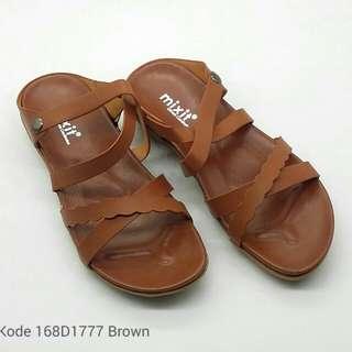 [MIXIT MXT SANDALS 168D1777] Sandal Fashion Wanita Impor Murah