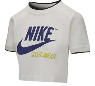 Nike sportswear crop top