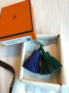 Hermes 7T blue electric x Malachite Duo Carmen