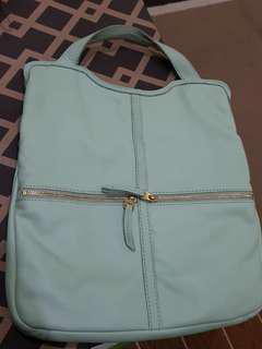 Fossil Erin Tote Bag Mint Green