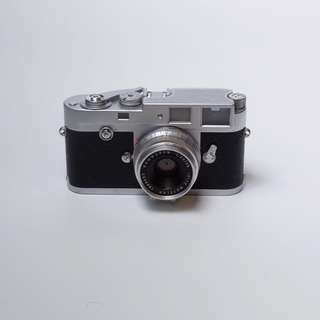 [Rare] Leica M2 Button Rewind  Film Camera + Summaron 2.8 (CLA'd)