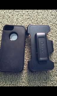 Black Otterbox iPhone 5/5s/5c/5se Case