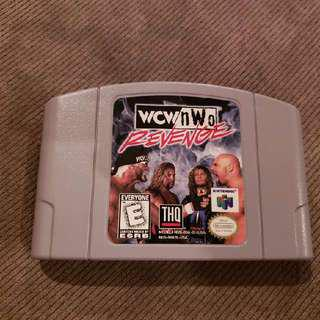 Wcw NWO Revenge for N64 Nintendo 64 Cartridge Only USA Version