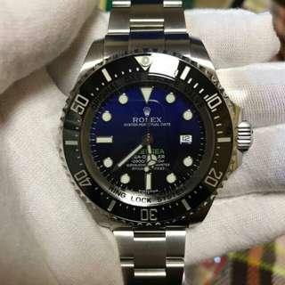 🚚 Rolex 勞力士海使型系列116660-98210 黑盤腕表(水鬼王)