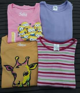 Bundle tops for girls