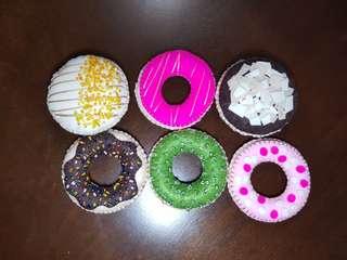 Felt food Donuts
