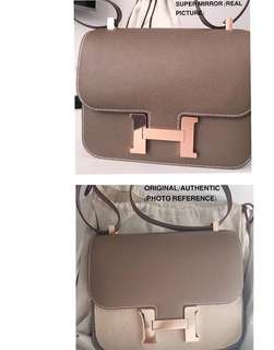 Excellent condition! Preloved VIP Hermes Constance 24