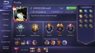 Mobile Legend Account For SALE!