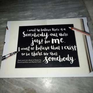 Post card inspired quotes