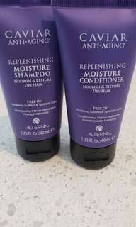 Caviar Anti-aging Shampoo and Conditioner