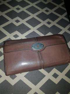 Fossil Maddox Long Wallet