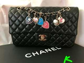 Chanel Classic Flap 25cm 情人節限量版