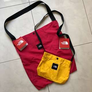 North face loop pocketable tote