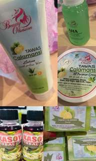 Tawas Calamansi cream and other products by Beauty Obsession (OPEN FOR TAKE ALL!!)
