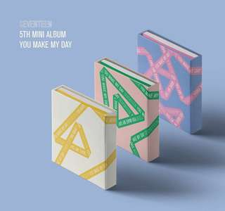 Seventeen 5th mini album You Make My Day