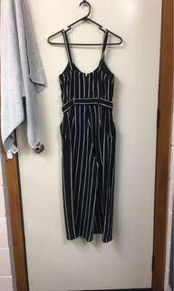 Dotti Striped Jumpsuit