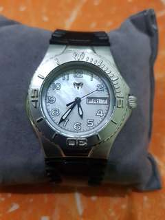 Authentic Technomarine Sport Mother of Pearl with free 3 extra straps