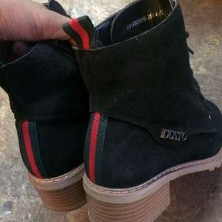 GUCCI LEATHER DUSTO BOOTS