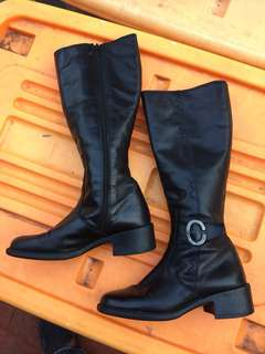 Boots size 37 Made in italy kulit asli