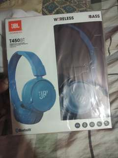 ORIG JBL T450Bt wireless Headphone