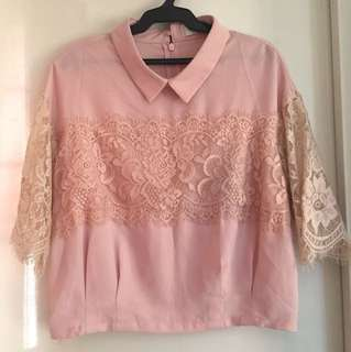 Korean top (crop)  medium
