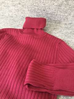 Banana Republic Silk/Nylon Turtleneck