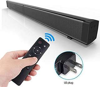🚚 LIMITED DEAL!! !  40W LP-9 Subwoofer Bluetooth Wall Mounted SOUNDBAR!!