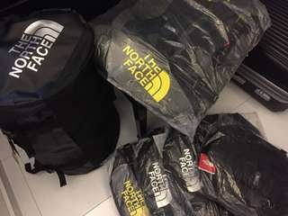 North Face Duffle/ Backpacks (Authentic)