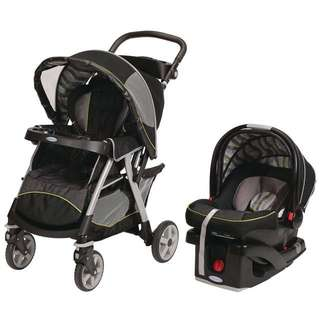 Graco Urbanlite click and connect stroller and carseat
