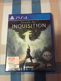 PS4 Brand new sealed Dragon Age Inquisition