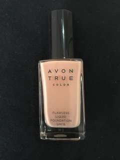 Avon True Color Flawless Liquid Foundation - Shade P2-15 SHELL