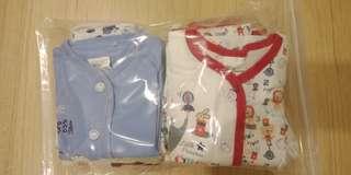 Assorted newborn clothes