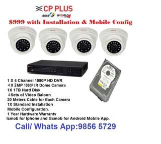 cctv 1080P package for pub