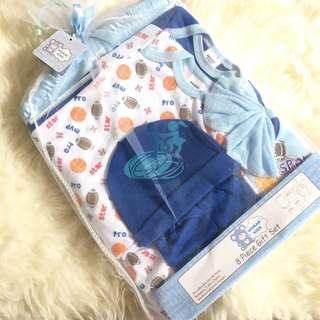 8 piece gift baby set