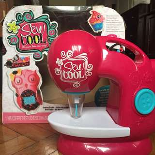 SEW COOL kids sewing machine
